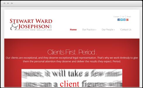 Sacramento Law Firm Web Design