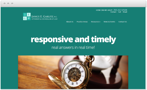 Virginia Law Firm Web Design