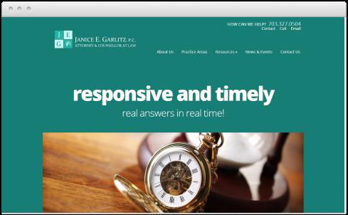 Virginia Law Firm Web Design