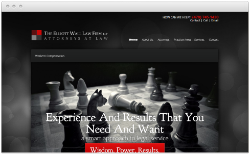 Macon Law Firm Web Design