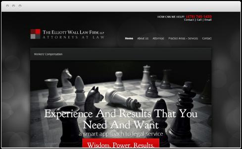 Macon Law Firm Web Design