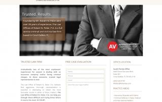 Law Firm Web Design In Miami, FL