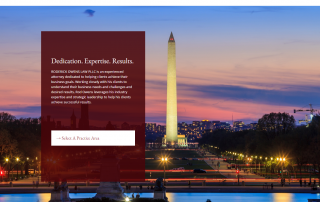 Washington, DC Law Firm Web Design