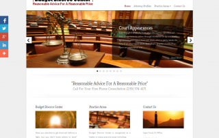 Attorney Web Design In Florida