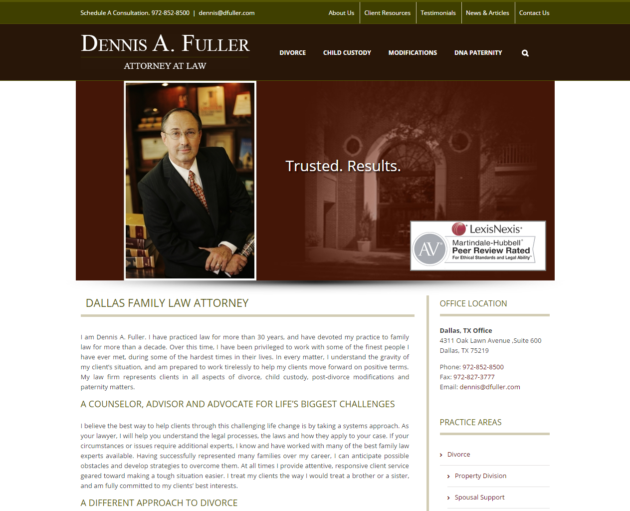 Web Design For Texas Law Firms - Designing Law