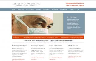 Columbus Ohio Attorney Web Design