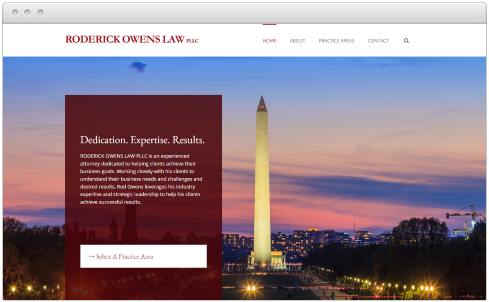 Washington DC Firm Web Design