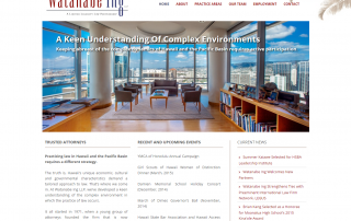 Premier Law Firm In Hawaii Selects Designing Law For Their Website Redesign