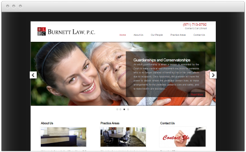 Beaverton, OR Law Firm Web Design