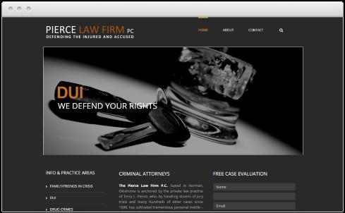 Norman, OK Law Firm Web Design