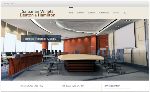Bardstown, KY Law Firm Web Design
