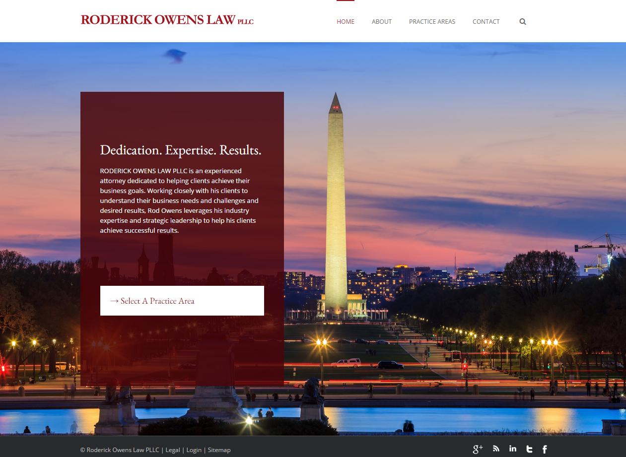 Washington Dc Law Firm Web Design Designing Law